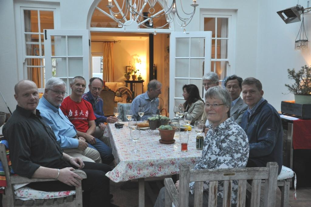 IGU EC members in Cape Town December 2015