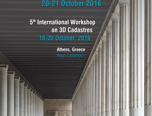 Joint 3D Athens Conference 2016 | 18-21 October 2016