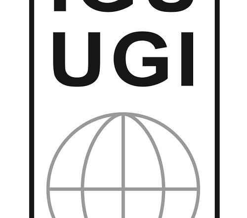 IGU-UGI Logo 30x40cm sw