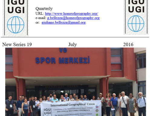 Latest IGU newsletter available – NS19 July 2016