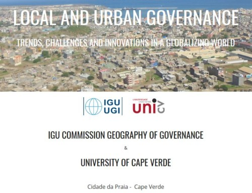 IGU Commission Geography of Governance – Annual Conference