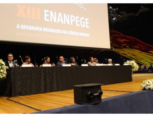 ENANPEGE: Brazilian Geographers meet in Sao Paulo