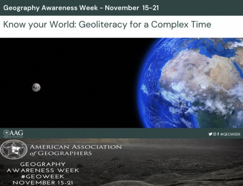 Geography Awareness Week November 16-21, 2020